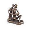 Danya B Couple with Baby Bronze Sculpture