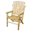 United General Supply CO., INC Aspen Cut Out Pine Tree Single Arm Chair I