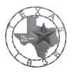 United General Supply CO., INC 1836 Texas Map Star Wall Décor