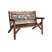 United General Supply CO., INC Char-Log Double Garden Bench