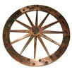 United General Supply CO., INC Deluxe Wooden Wagon Wheel