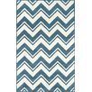 nuLOOM Gradient Blue/White Soni Area Rug