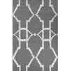 nuLOOM Darby Flatwoven Gray Area Rug