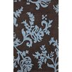 nuLOOM Cine Paisleys Brown / Blue Area Rug