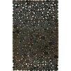 nuLOOM Hides Bubbles Black/Grey Geometric Area Rug