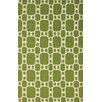 nuLOOM Flatweave Green Trina Rug