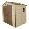 Duramax Building Products 8 Ft. W x 6 Ft. D Fire Retardant Vinyl Storage Shed