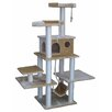 "Go Pet Club 72"" Faux Fur Cat Tree"