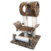 "Go Pet Club 28"" Faux Fur Cat Tree"
