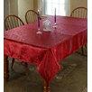 Violet Linen European Floral Tablecloth