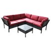 DG Casa Del Mar 2 Piece Seating Group with Cushions