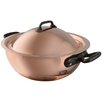 Mauviel M'heritage 2-qt. Curved Splayed Saute Pan