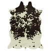 Acura Rugs Animal Hide White/Brown Area Rug
