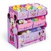 Delta Children Minnie Mouse Multi-Bin Toy Organizer