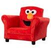 Delta Children Sesame Street Elmo Giggle Upholstered Chair with Sound