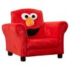 Delta Children Sesame Street Elmo Giggle Upholstered Chair with Sound
