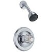 Delta Classic Pressure Balanced Shower Faucet Trim with Lever Handles