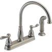Delta Windemere Double Handle Kitchen Faucet
