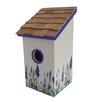 Home Bazaar Lavender Bluebirds Mounted Birdhouse