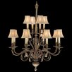 Fine Art Lamps Verona 12 Light Chandelier