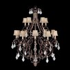 Fine Art Lamps Stile Bellagio 15 Light Chandelier