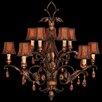 Fine Art Lamps Brighton Pavillion 10 Light Chandelier