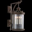 Fine Art Lamps Louvre 4 Light Wall Lantern