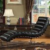 Lazzaro Leather Toscana Leather Chaise Lounge