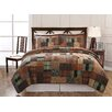 Classic Home Jewel Tone Plaid Quilt Set