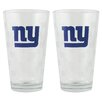 Boelter NFL Pint Glass Cup (Set of 2)