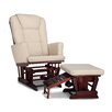 Graco Sterling Nursing Glider with Ottoman
