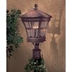 Great Outdoors by Minka Mission Bay  Outdoor Post Mount Lantern in Antique Bronze