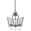 Metropolitan by Minka Lake Frost 5 Light Mini Chandelier
