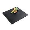 "Paderno World Cuisine 12"" Square Natural Slate Tray"