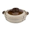 Paderno World Cuisine Dual-Handled Clay Cooking Pot (Set of 3)