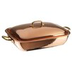 """Paderno World Cuisine 13.88"""" Copper and Tin Roasting Pan"""