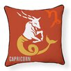 Naked Decor Capricorn Indoor/Outdoor Throw Pillow