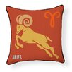 Naked Decor Aries Indoor/Outdoor Throw Pillow