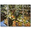 All My Walls 'Schloss Kammer' by Ingrid Dohm 3 Piece Painting Print Plaque Set