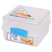 Sistema USA 48-Oz. Klip It Lunch Cube To Go Food Container