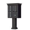 Florence Mailboxes Vogue Type II 12 Unit Cluster Box Unit with Classic Accessories