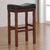 "American Woodcrafters Jackson 30"" Bar Stool with Cushion"