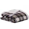 Eddie Bauer Edgewood Plaid Flannel Sherpa Throw Blanket
