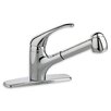 American Standard Reliant+ Single Handle Centerset Combi kitchenFaucet with Pull-Out Spray