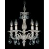 Schonbek Milano 5 Light Crystal Chandelier