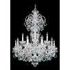 Schonbek Olde World 15 Light Crystal Chandelier