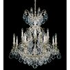 Schonbek Versailles 13 Light Crystal Chandelier