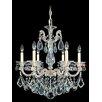 Schonbek La Scala 6 Light Crystal Chandelier