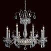 Schonbek Fontana Luce 10 Light Crystal Chandelier