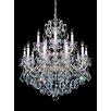 Schonbek La Scala 15 Light Crystal Chandelier